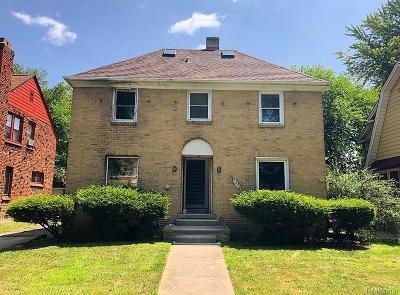 Detroit Single Family Home For Sale: 15052 Artesian Street
