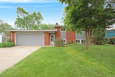 Sterling Heights Single Family Home For Sale: 11556 Diamond Drive