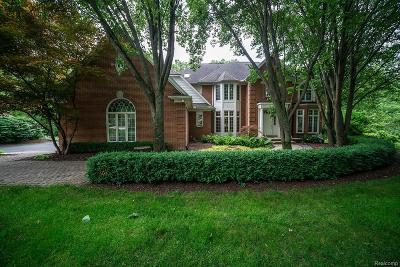 Oakland Twp Single Family Home For Sale: 5240 Stonehenge Drive