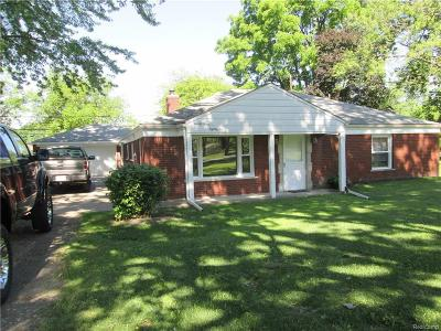 Taylor Single Family Home For Sale: 9386 Mortenview