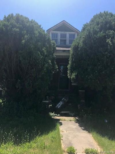 Macomb County, Oakland County, Wayne County Single Family Home For Sale: 5573 Pacific Street