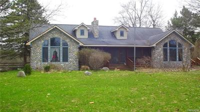 Addison Twp Single Family Home For Sale: 690 Walker Road