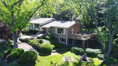 Bloomfield Twp Single Family Home For Sale: 6971 Valley Spring Road