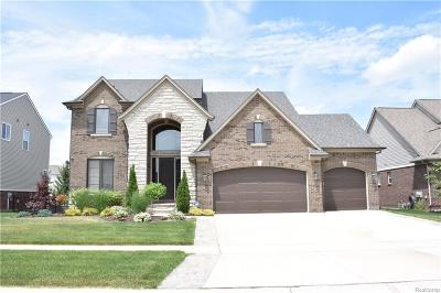Macomb Twp Single Family Home For Sale: 21871 Goldenwillow Drive