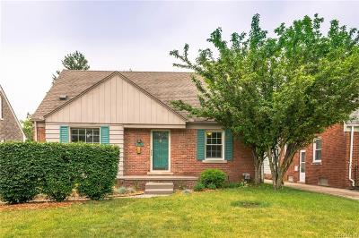 Royal Oak Single Family Home For Sale: 2117 N Wilson Avenue
