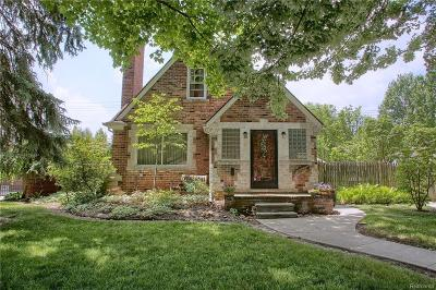 Grosse Pointe Single Family Home For Sale: 843 Loraine Street