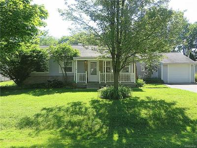 Plymouth Single Family Home For Sale: 9034 Marlowe Avenue