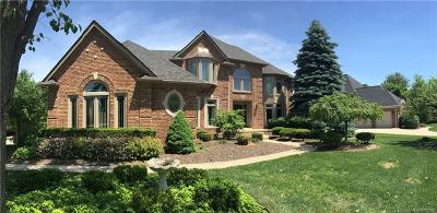 Oakland County Single Family Home For Sale: 41718 Chesterfield Court