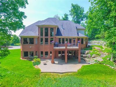 Lake Orion, Orion Twp, Clarkston, Independence Twp, Oxford Single Family Home For Sale: 5006 Forest Valley Drive