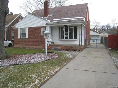 Dearborn, Dearborn Heights Single Family Home For Sale: 8244 Hazelton Street