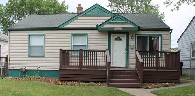 Wyandotte Single Family Home For Sale: 720 Hudson Street
