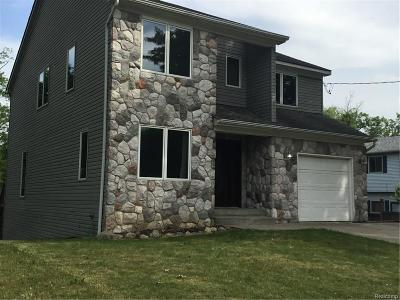 Waterford Twp MI Single Family Home For Sale: $309,000