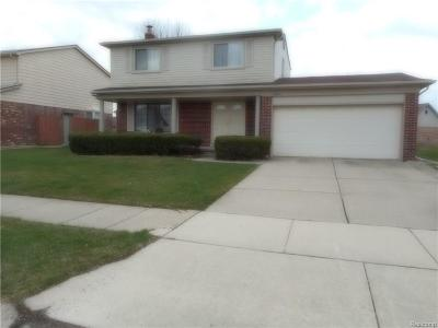 Riverview MI Single Family Home For Sale: $225,000