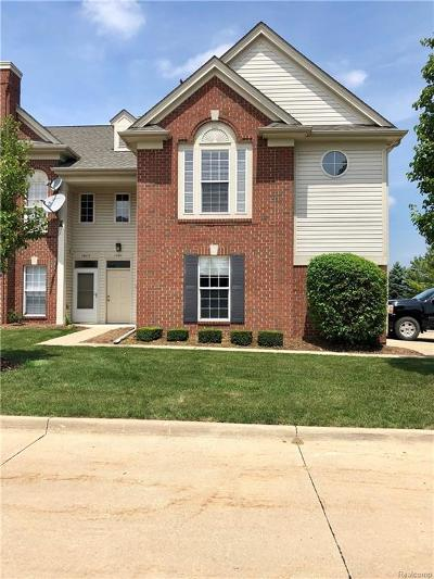Sterling Heights Condo/Townhouse For Sale: 15065 Hidden Pointe Circle