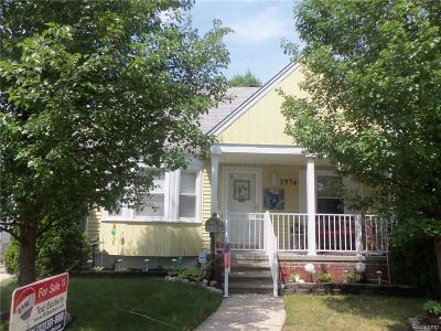 Dearborn Single Family Home For Sale: 2976 Academy Street