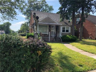 Detroit Single Family Home For Sale: 19401 Grandville Avenue