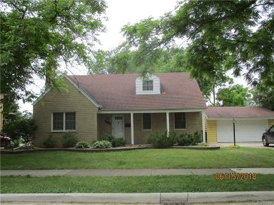 Allen Park Single Family Home For Sale: 9012 Niver Avenue