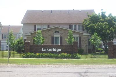 Harrison Twp Condo/Townhouse For Sale: 26010 N Lake Drive