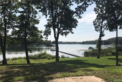 Waterford Twp Residential Lots & Land For Sale: Blain Island