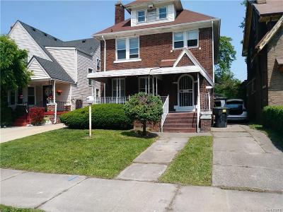 Detroit Single Family Home For Sale: 3018 Burlingame Street
