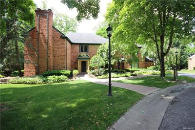 Bloomfield Twp Single Family Home For Sale: 706 Browning Court