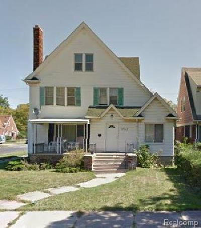 Detroit Single Family Home For Sale: 15062 Mettetal Street