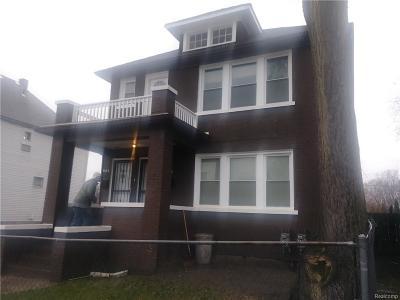 Detroit Multi Family Home For Sale: 5743 Iroquois Street