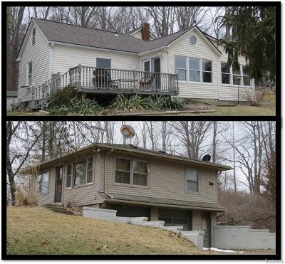 Addison Twp Multi Family Home For Sale: 1556 Rochester Road