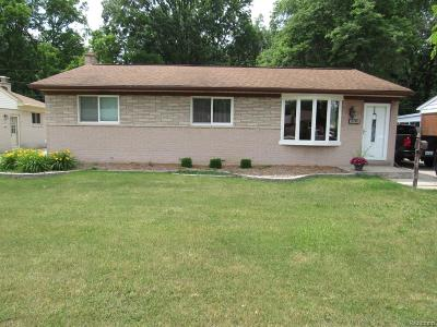 Taylor MI Single Family Home For Sale: $139,900