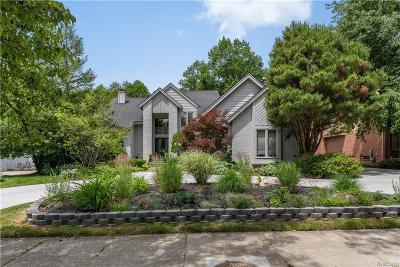 West Bloomfield, West Bloomfield Twp Single Family Home For Sale: 6790 Burtonwood Drive