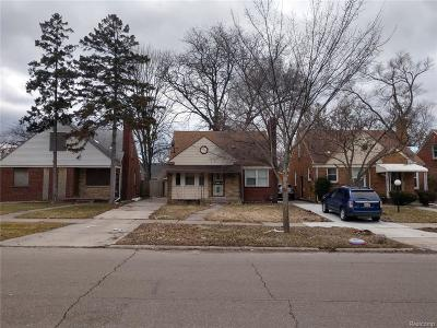 Detroit Single Family Home For Sale: 17511 Westmoreland Road