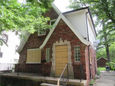 Detroit Single Family Home For Sale: 5098 Berkshire Street