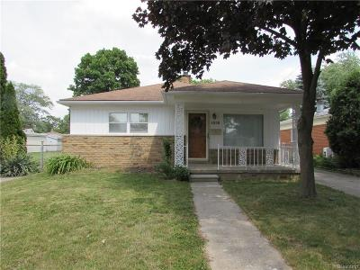 Dearborn Heights Single Family Home For Sale: 4659 Gertrude Street