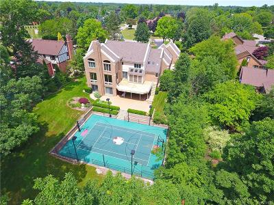 Bloomfield Twp MI Single Family Home For Sale: $1,475,000