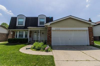 Canton Single Family Home For Sale: 44223 Webster Road
