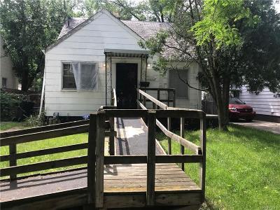 Detroit Single Family Home For Sale: 20267 Westphalia Street