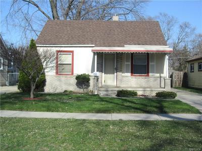 Dearborn Heights Single Family Home For Sale: 5101 Clippert Street