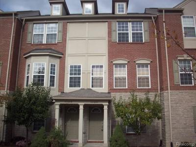 Novi MI Condo/Townhouse For Sale: $169,900
