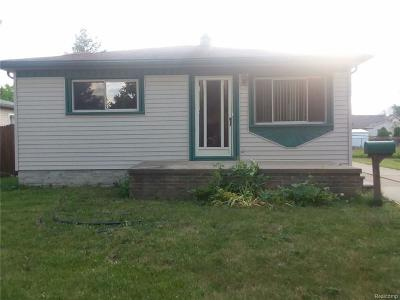 Dearborn Heights Single Family Home For Sale: 4622 Edgewood Street