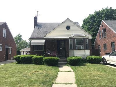 Detroit Single Family Home For Sale: 11335 McKinney Street