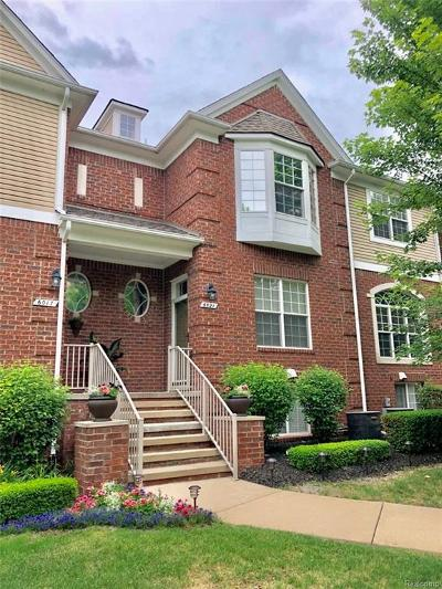 Shelby Twp MI Condo/Townhouse For Sale: $249,900
