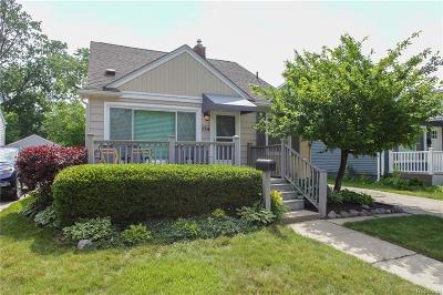 Royal Oak Single Family Home For Sale: 134 N Wilson Avenue