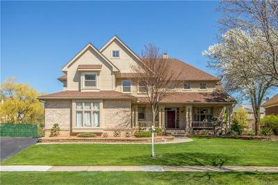 West Bloomfield, West Bloomfield Twp Single Family Home For Sale: 7460 Rafford Lane