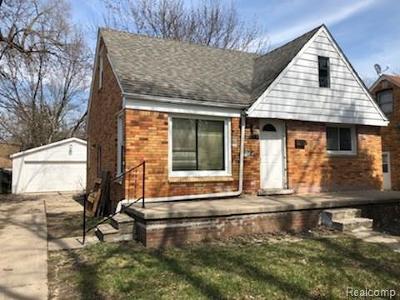 Inkster Single Family Home For Sale: 1329 Helen Street