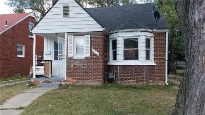 Detroit Single Family Home For Sale: 18270 Saint Marys Street