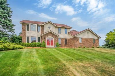 Milford Twp Single Family Home For Sale: 1580 Milford Meadows Court