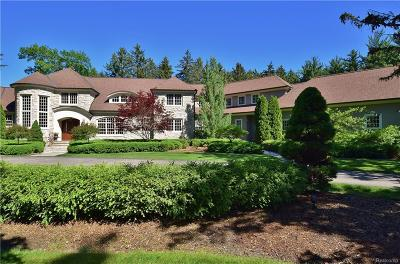 Bloomfield Twp Single Family Home For Sale: 5015 Brookdale Road