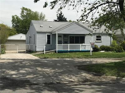 Dearborn Heights Single Family Home For Sale: 5960 N Beech Daly Road