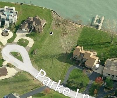 Grosse Ile, Gross Ile, Grosse Ile Twp Residential Lots & Land For Sale: Vac Parke Lane