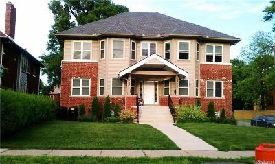Detroit Multi Family Home For Sale: 1900 W Grand Boulevard
